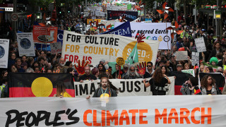 The Global Climate March – pochod za změnu klimatu