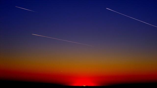 Meteorický roj Perseidy doplní konjunkce planet s Měsícem