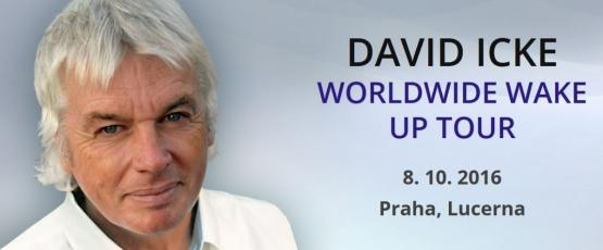 David Icke podruhé vPraze – další odkrytá tajemství vyjdou na světlo vsamém srdci Evropy!
