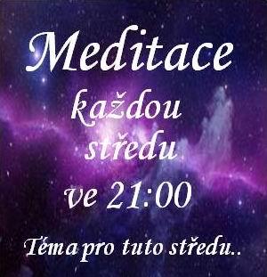 Meditace každou středu ve 21 hodin