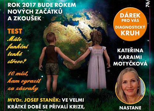 Právě vychází časopis VE HVĚZDÁCH č. 76/2017