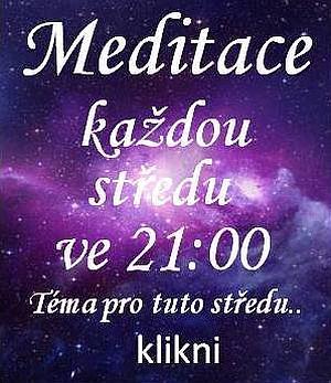 MEDITACE 8.2.2017 ve 21.hod.