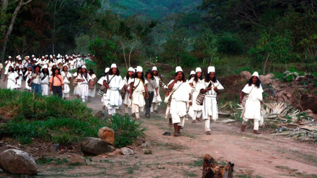 Poselství indiánů Arhuacos
