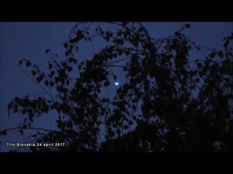 Muž natočil záhadný létající objekt nad Slovenskem se vzkazem: přijde čas, kdy budou lidé pořádně překvapeni
