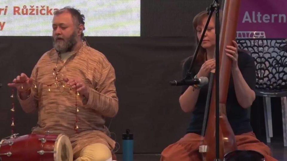 Nádarúp a Parabrahma, Mantra Ánanda Band